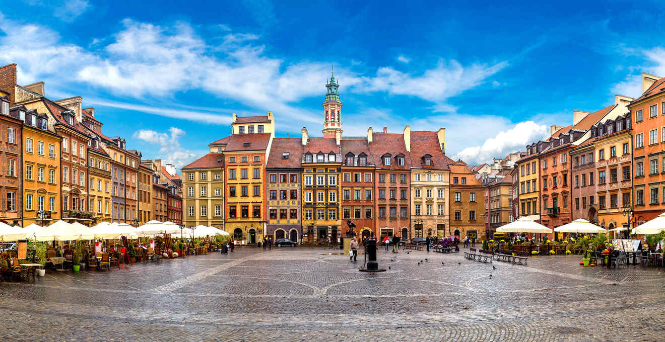 Where To Stay in Warsaw → Best Hotels & Apartments (with Prices!)
